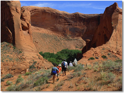 Camping and Hiking Escalante