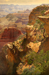 Gunnar Widforss Grand Canyon. Gunnar Widforss Institute.