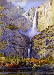 Gunnar Widforss Yosemite Falls. Gunnar Widforss Institute