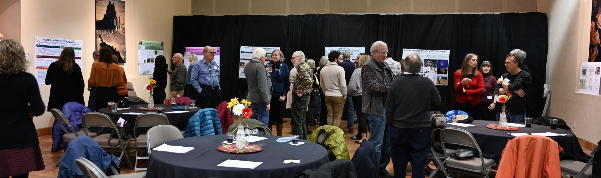 An event for research associates