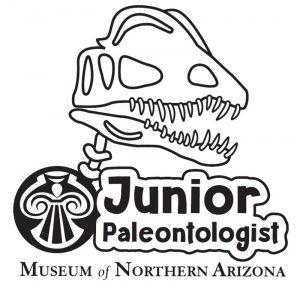 MNA Junior Paleontologist logo